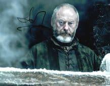 Liam Cunningham Autograph Signed Photo - Davos Seaworth