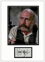Lionel Jeffries Autograph Signed Display - Chitty Chitty Bang Bang
