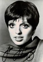 Liza Minnelli Autograph Photo Signed