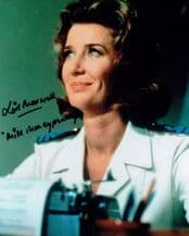 Lois Maxwell Autograph Signed - James Bond Miss Moneypenny