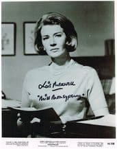 Lois Maxwell Autograph Signed Photo - Miss Moneypenny
