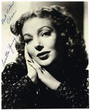 Loretta Young Autograph Signed Photo