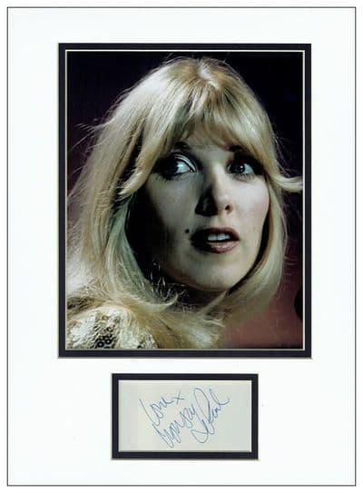 Lynsey de Paul Autograph Signed Display