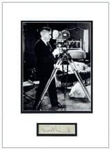 Mack Sennett Autograph Signed Display - King of Comedy