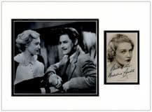 Madeleine Carroll Signed Photo - The 39 Steps