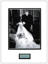 Mae Clarke Autograph Signed Display - Frankenstein