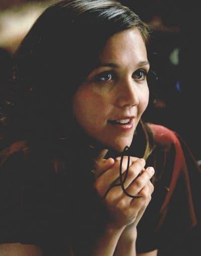 Maggie Gyllenhaal Autograph Signed Photo - Batman