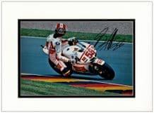 Marco Simoncelli Autograph Signed Photo