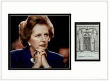 Margaret Thatcher Autograph
