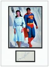 Margot Kidder Autograph Signed Display - Lois Lane
