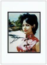 Marguerite LeWars Autograph Signed Photo - Dr No