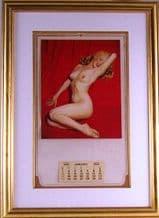 Marilyn Monroe Golden Dreams Nude Calendar