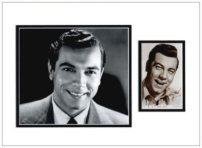 Mario Lanza Signed Photo Display