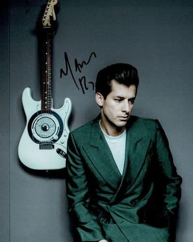 Mark Ronson Autograph Signed Photo - Uptown Funk