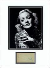 Marlene Dietrich Autograph Signed