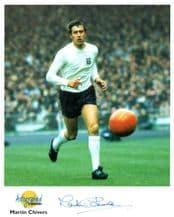 Martin Chivers Autograph Signed Photo - Tottenham Hotspur