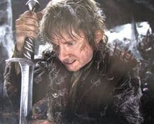 Martin Freeman Autograph Signed Photo - Bilbo Baggins