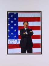 Martin Sheen Autograph Signed Photo - The West Wing