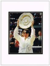 Martina Hingis Autograph Signed Photo