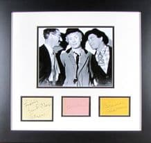 Marx Brothers Autograph Signed Display - Groucho, Chico and Harpo