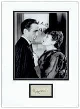 Mary Astor Autograph Signed Display