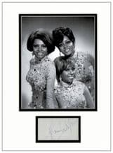 Mary Wilson Autograph Signed - The Supremes