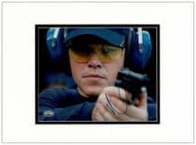Matt Damon Autograph Signed Photo - Jason Bourne