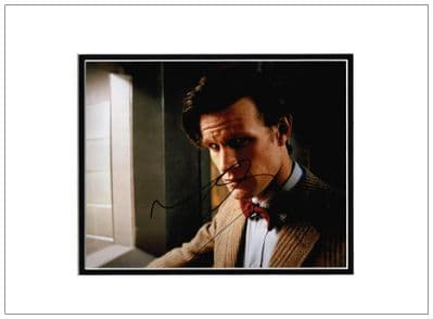 Matt Smith Autograph For Sale Doctor Who