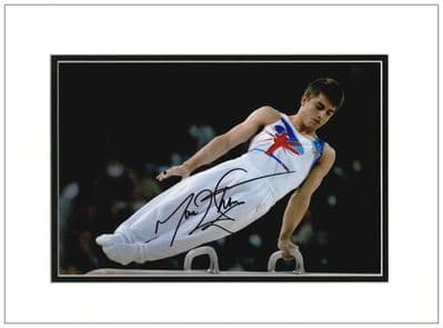 Max Whitlock Autograph Signed Photo