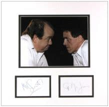 Mel Smith & Griff Rhys Jones Autograph Display