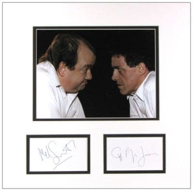 Mel Smith & Griff Rhys Jones Autograph Display