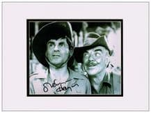 Melvyn Hayes Autograph Signed Photo - It Ain't Half Hot Mum