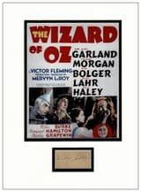 Mervyn LeRoy Autograph - The Wizard of Oz