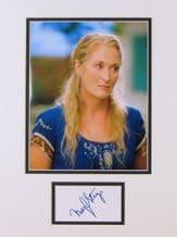 Meryl Streep Autograph Signed - Mamma Mia