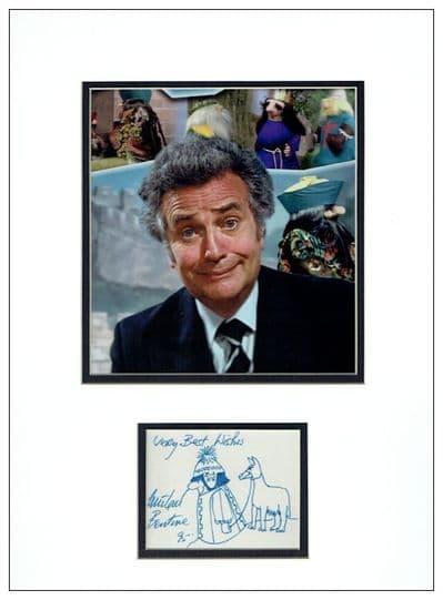 Michael Bentine Autograph Signed Display