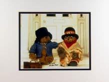 Michael Bond Autograph Signed Photo - Paddington Bear