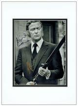 Michael Caine Autograph Photo - Get Carter