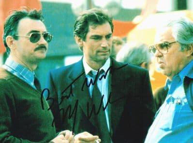 Michael G Wilson Autograph Signed Photo - James Bond