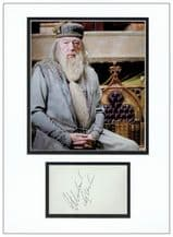 Michael Gambon Autograph Signed Display - Dumbledore