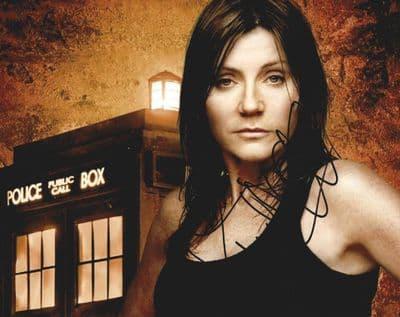 Michelle Collins Autograph Signed Photo - Dr Who