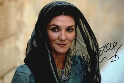 Michelle Fairley Autograph Signed Photo - Game of Thrones