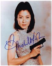 Michelle Yeoh Autograph Signed Photo