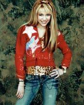 Miley Cyrus Autograph Signed Photo - Hannah Montana