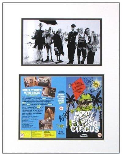 Monty Python Cast Signed Photo Display