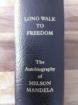 Nelson Mandela Autograph Signed Long Walk To Freedom