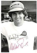 Nelson Piquet Autograph Photo - Formula 1