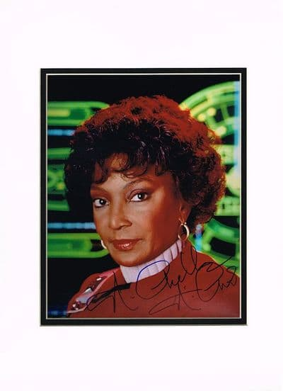 Nichelle Nichols Autograph Signed Photo - Star Trek