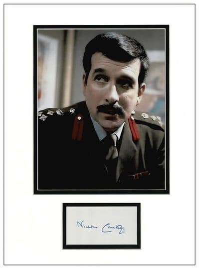 Nicholas Courtney Autograph Signed Display - Doctor Who