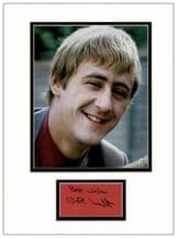 Nicholas Lyndhurst Autograph Signed Display - Only Fools