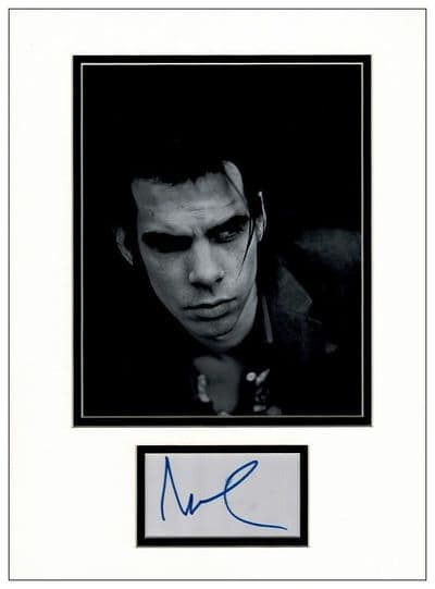 Nick Cave Autograph Signed Display